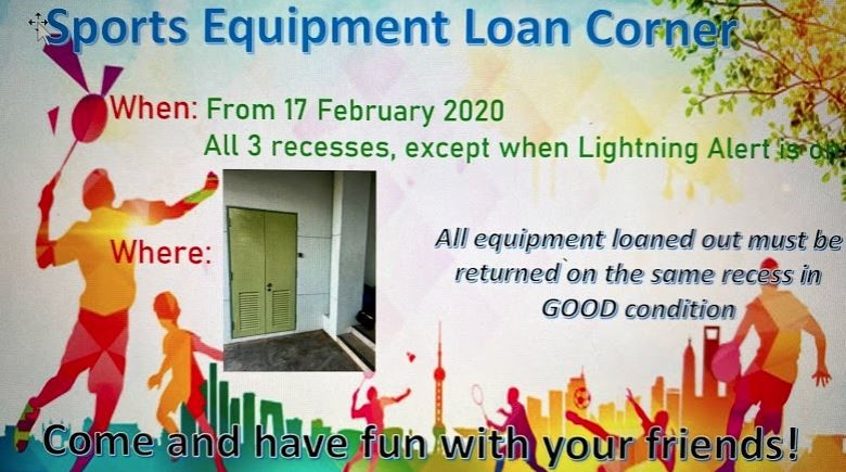 Sports Equipment Loan Corner.jpg
